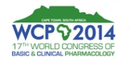 WCP 2014: 17th World Congress of Basic and Clinical Pharmacology in Cape Town