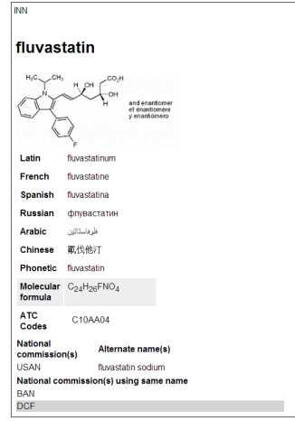 Fluvastatin_INN document