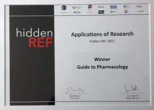 Guide to Pharmacology hidden REF certificate
